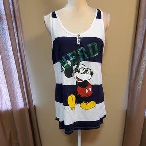 Disney Mickey tank size XL